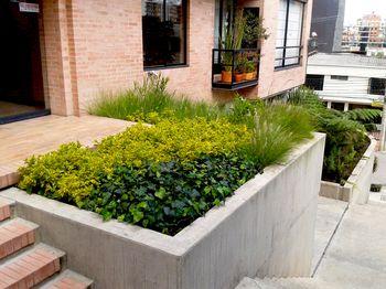 Paisajismo urbano moderno en diseño y construccion en Bogota y Colombia